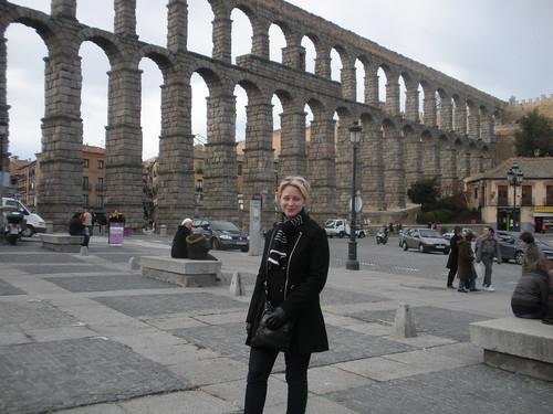 Sarah and the aqueduct