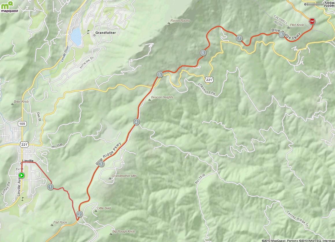 Viaduct Climb Map