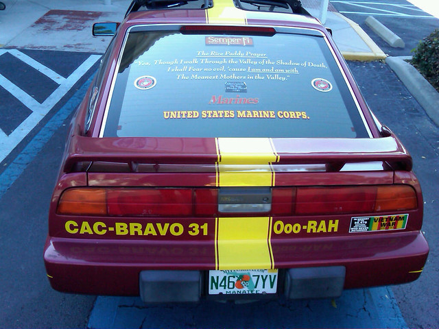 Adventures in Traffic - USMC Car