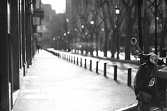 Quadrophenia en blanco y negro (Eduardo Siquier Corts) Tags: blackandwhite espaa blancoynegro monochrome monocromo noiretblanc bokeh motorcycles scooter vehicles mopeds motorbikes lamancha motos albacete motorcyclists castillalamancha motocicletas motorists vehculos blackwhitephotos motoristas vhicules ciclomotores escter cyclomoteurs motocyclettes motocyclistes
