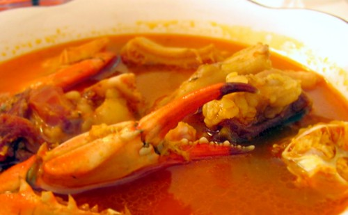 Liberian Seafood Soup at Maima's