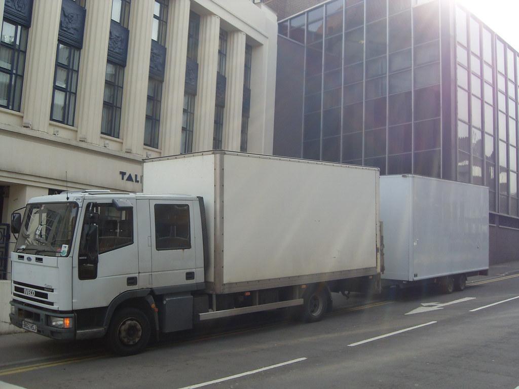 Tector crewcab box & trailer