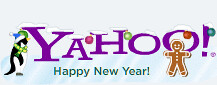 Yahoo New Years Logo