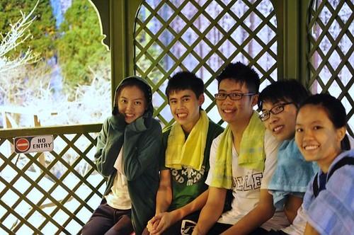 Wei Lon,Calvin,Terence,Chee Li Kee and Shi Ning