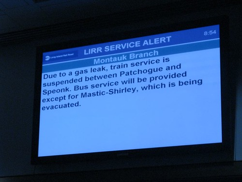 LIRR: Announcement of doom