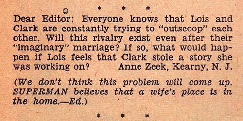 Lois Lane #22 letter