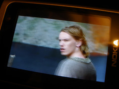 Camelot trailer on phone screen