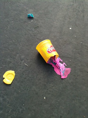 Play-Doh Crime Scene