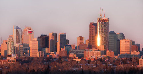 Calgary by Sunrise