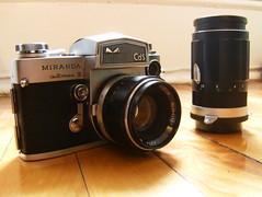 Miranda automex III (bright.coloured.frames) Tags: camera old film vintage miranda automex automexiii