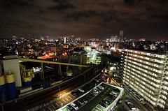 No Tripod? No Worries! (Lemuel Montejo) Tags: sky building japan night buildings nikon bright tokina1224 handheld yokohama ultrawide highiso uwa boholano d7000 emwing nikond7000 emwingmontejo lemuelmontejo