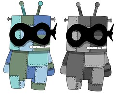 Robot Bandit (The Top Hat Bandit) Tags: robot mac drawing doodle vector inkscape bandir reddin edgedonkey