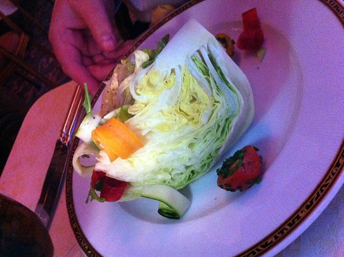 Nouveau Steakhouse - Heart of Iceberg Salad