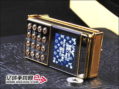 Louis Vuitton Belt Buckle Cellphone