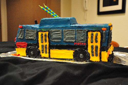 Max Birthday Bus