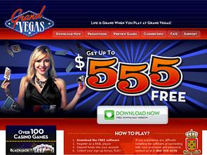 Grand Vegas Casino Home