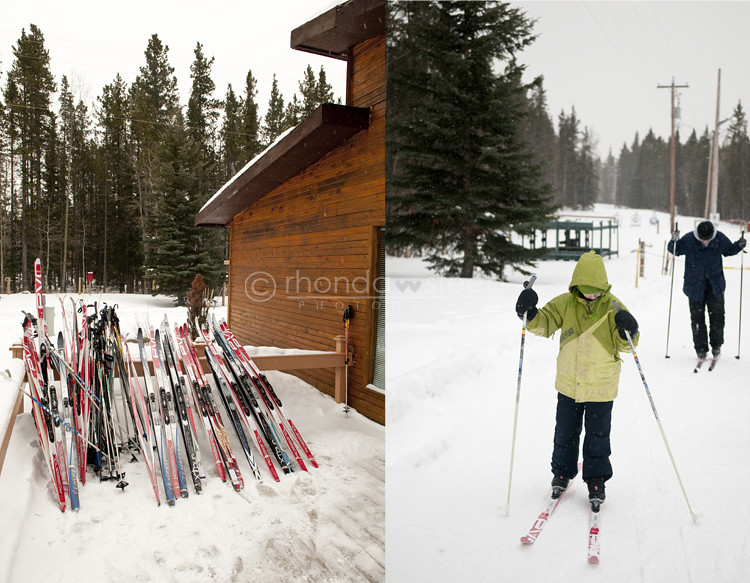 jan 8: Cross country skiing