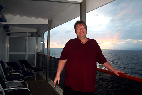Carnival Spirit - Flashy Mike with Sunset