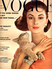 Vogue-January 1962 (Fashion Covers Magazines (Second)) Tags: vogue 1962 vintagefashion vintagemagazine 1960s wilhelminacooper 1960sfashion