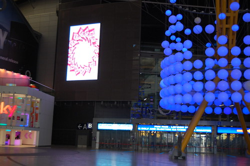 Screens at the O2