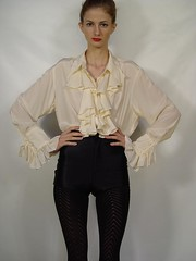 Diane Von Furstenberg Cream Silk Ruffle Poet Blouse 4 (mondas66) Tags: ruffles lace silk ascot blouse poet romantic elegant ornate lacy silky dainty prim frilly elegance jabot ruffle demure blouses silken frills frill ruffled dianevonfurstenberg flouncy flounce lacework frilled flounces frilling frillings befrilled