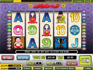 Sumo slot game online review