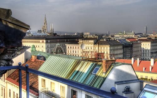 Vienna roofs. Tejados de Viena