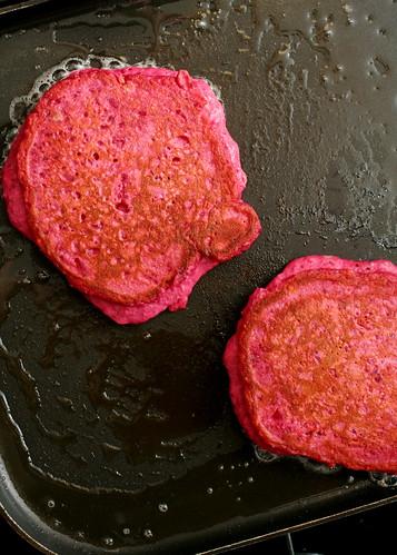 Quinoa & Beet Pancakes