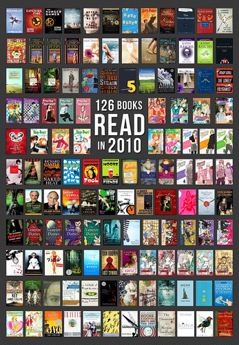 126 Books read in 2010!