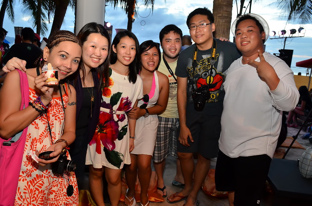 Bloggers at Epic Boracay