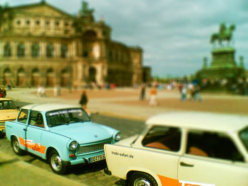 dresden - tilt shift