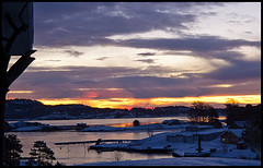 013/365 Lovely sunrise! (Rasmus_hald) Tags: norway sunrise norge 365 sne e5 sandefjord lr3 1435mm cs5 rasmushald 2011inphotos 365the2011edition