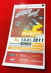 Geierabend 2011: Eintrittskarte