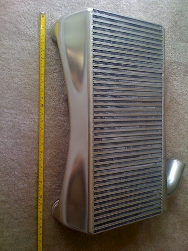 Wode Twin Turbo intercooler