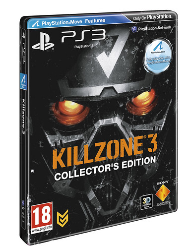 Killzone 3 goes gold! - Steelbook 3D