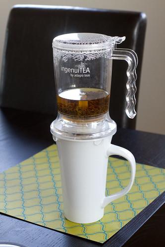 tea straining