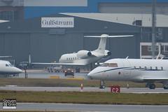 99-0402 - 571 - USAF - Gulfstream V C-37A - Luton - 110106 - Steven Gray - IMG_7567