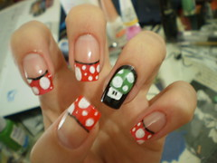 1 UP ! (_aNick) Tags: nail artnail
