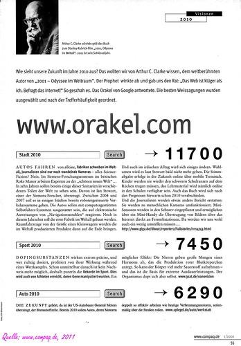 Orakel / oracle 2001