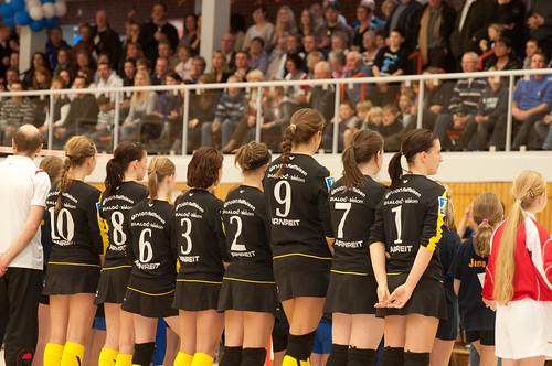 Faustball Europapokal Halle 2011
