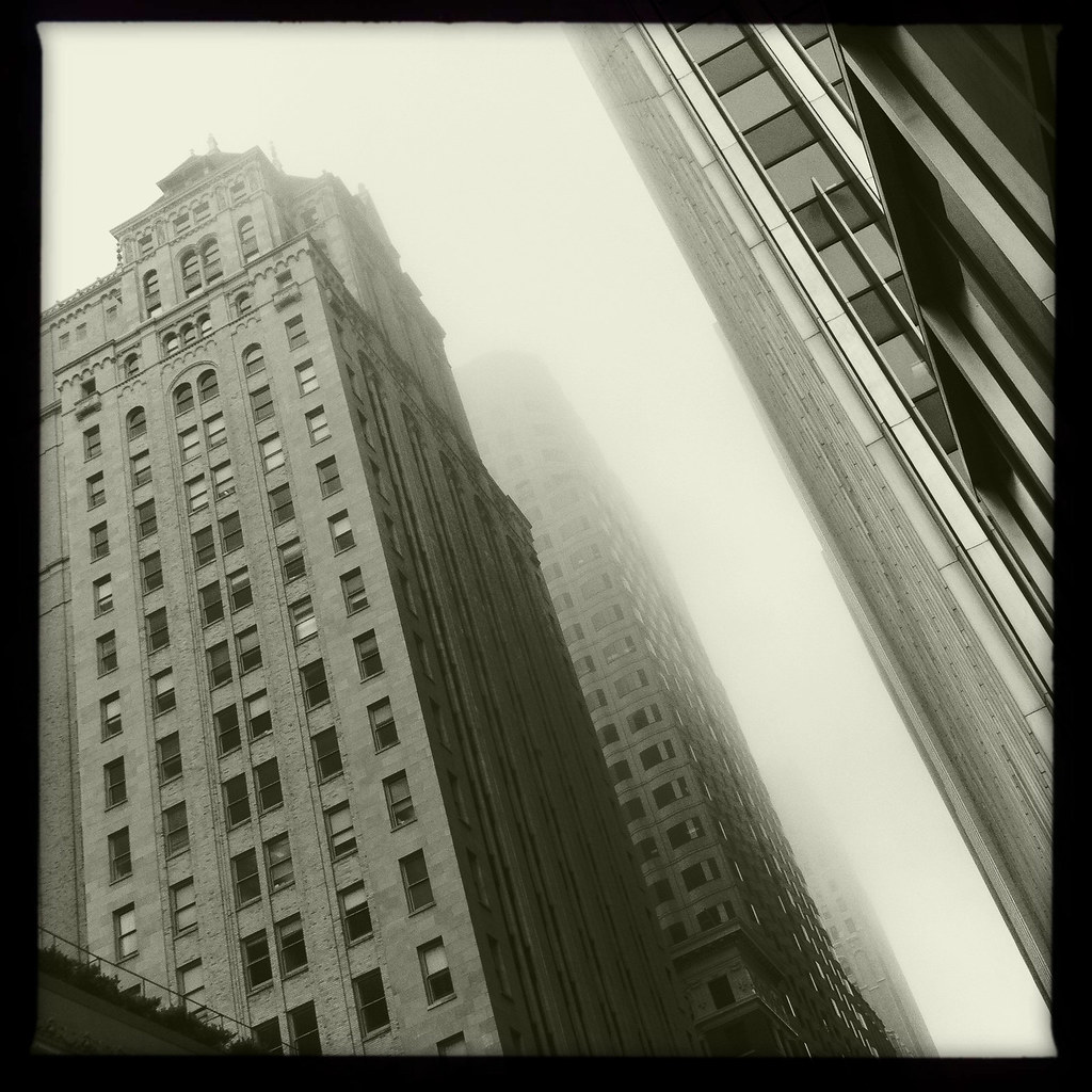 A Dreary Downtown Day