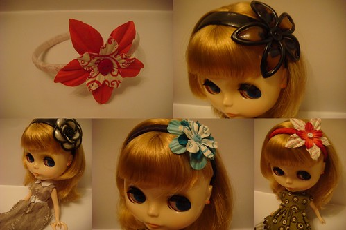 Blythe Headbands Collage