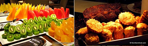 Roast Beef & Fruits Buffet