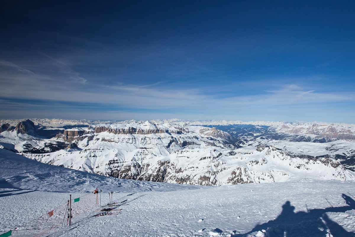 View from Marmolada