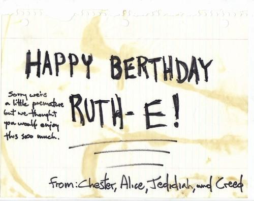 Birthday 1997