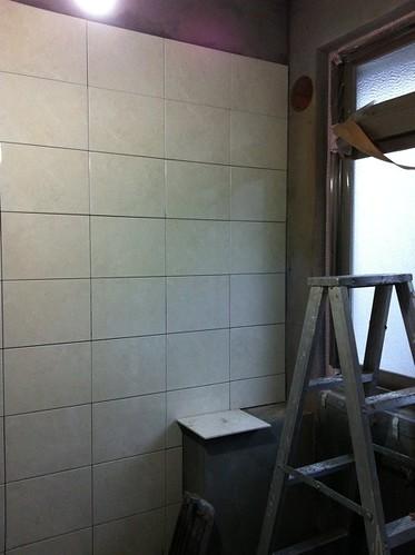 施工第十一天-廚房