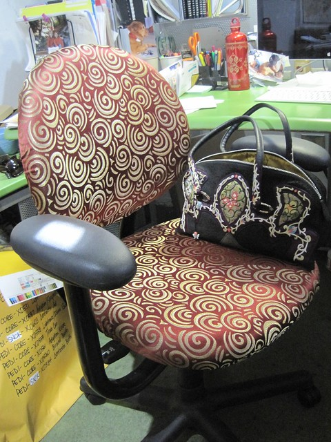 Janet's custom chair cover