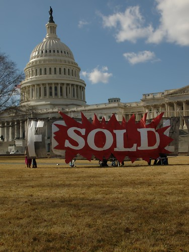 US Capitol Sold (Washington, DC)