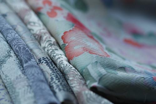 Vintage Japanese Silk