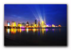 The Wonders of Doha (steadfast1898) Tags: longexposure skyline dusk citycenter arabiangulf alcorniche dohabay asiancup2011 gitzogt1541tcarbon6x winter2011 clikeliteprosportsbackpack fifaworldcup2022 odhaqatar nikond700nikkor1735f28hayocplpro hinditohdrabeperometanchuatkininisito alingsimstlcwotwot qatardohafifaworldcup2022host